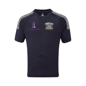 Denby Dale CC Games Shirt with embroidered badge, sponsor  and initials