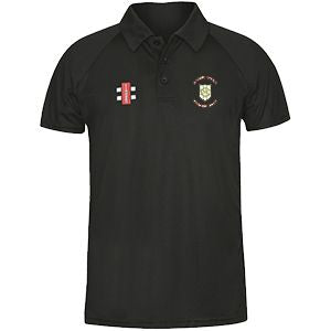 Green Moor Matrix Polo with embroidered badge