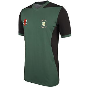 Green Moor CC Training Shirt with embroidered badge