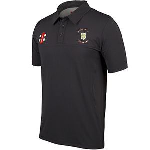 Green Moor Pro Performance Polo with embroidered badge