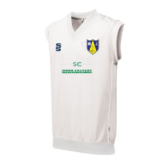 Hall Bower CC Sleeveless Playing SweaterWith embroidered badge & Sponsor