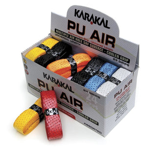 Karakal Coloured PU Super Air Grip (Box of 24)