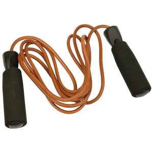 Urban Fitness  2.7m Leather Jump Rope