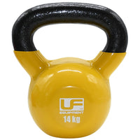 Urban Fitness Vinyl Coated Cast Iron Kettlebell