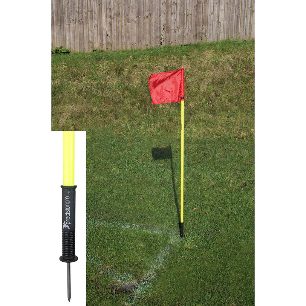 "Precision ""Sprung"" Corner Posts - Fluo Yellow (Set of 4)"