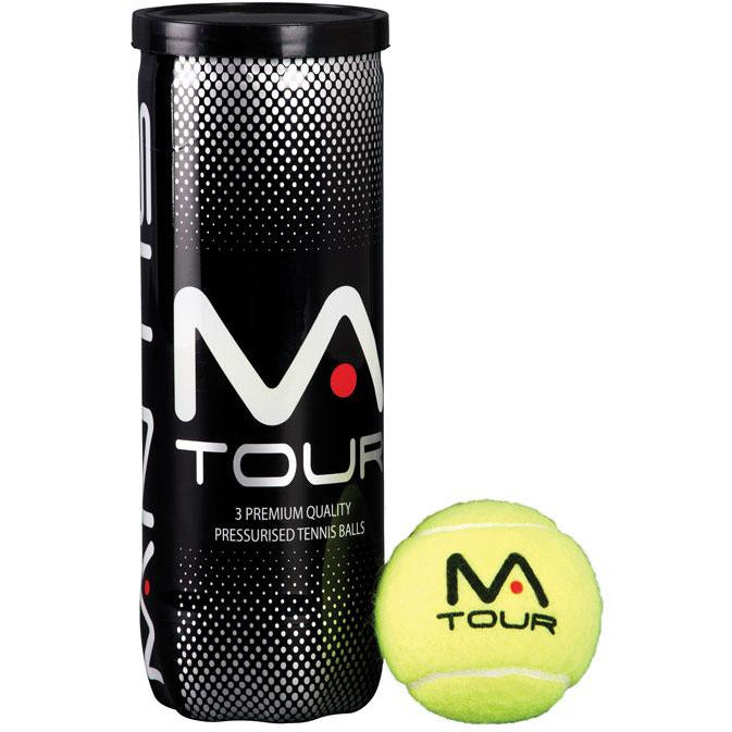 MANTIS Tour Tennis Balls (Tube of 3)