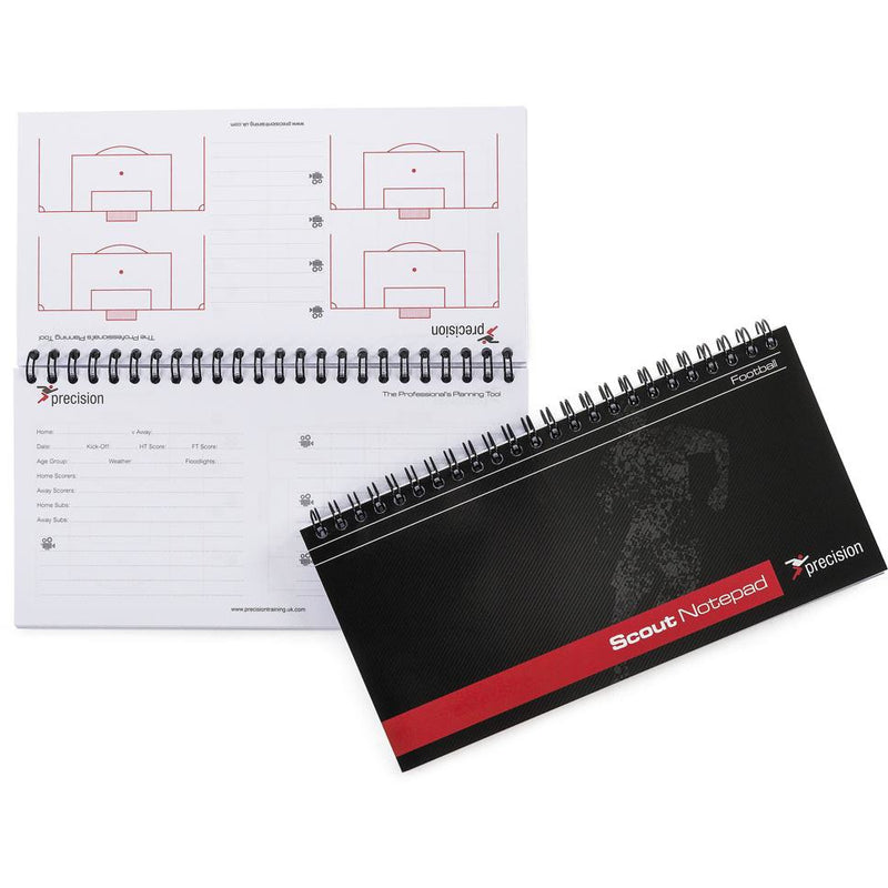 Precision A5 Football Slimline Scouts Notepad (Pack 6)