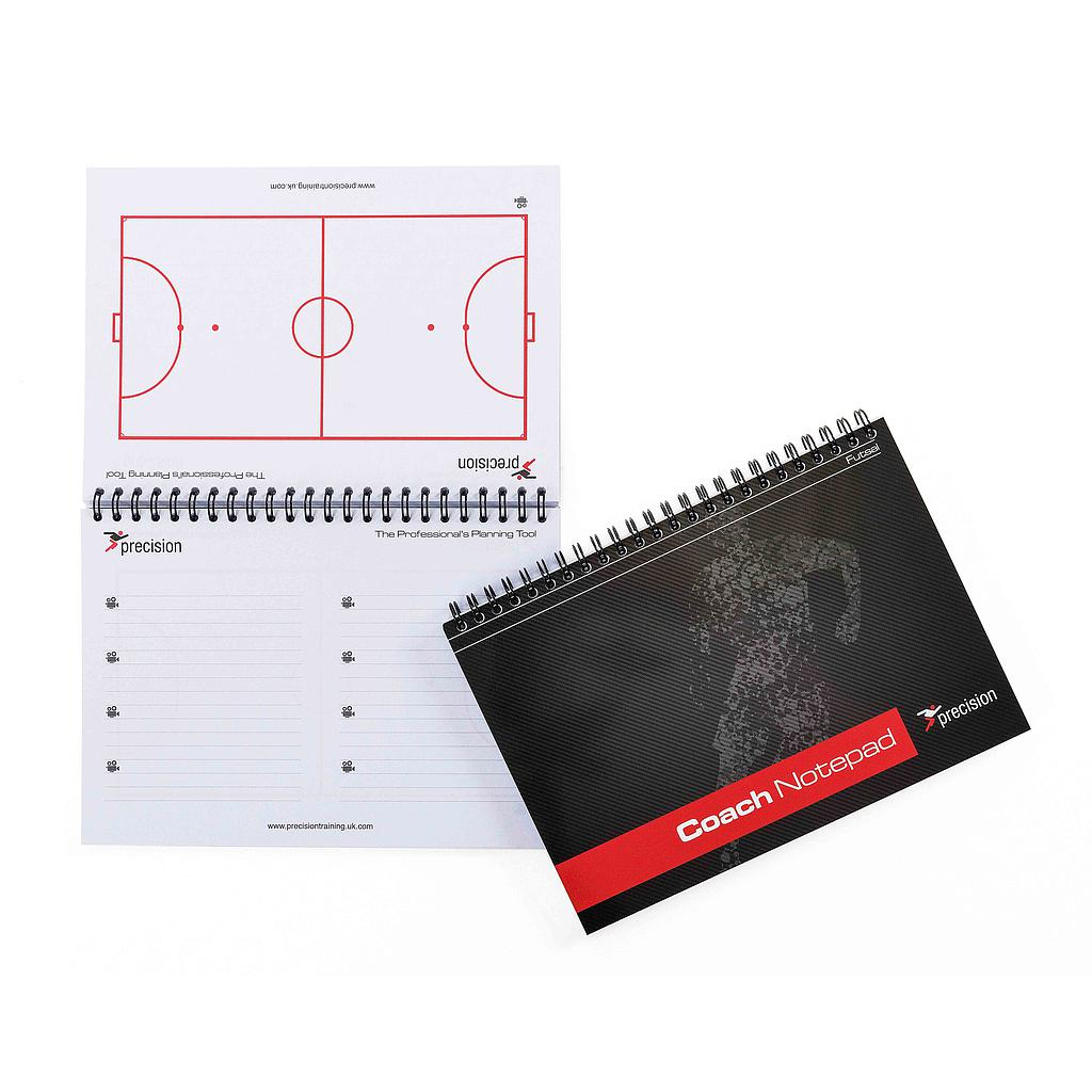 Precision A5 Futsal Coach Notepad (Pack 6)