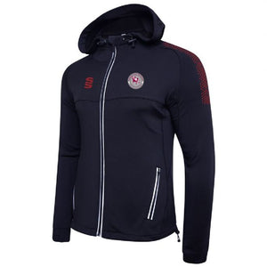 Kirkheaton CC Performance Hoodie with embroidered badge & Initials