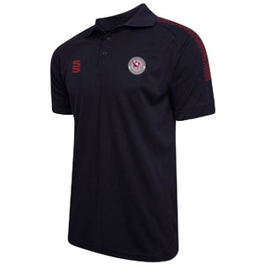 Kirkheaton CC Polo Shirt with embroidered badge & Initials