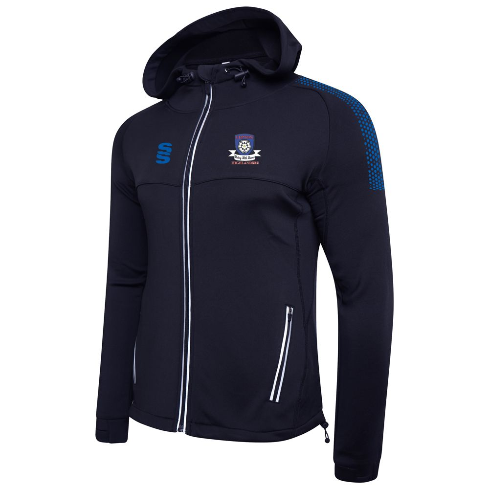 Lepton Highlanders Navy Performance Hoodie