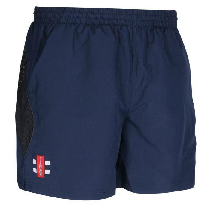 Leymoor CC Storm Shorts with embroidered badge & Initials