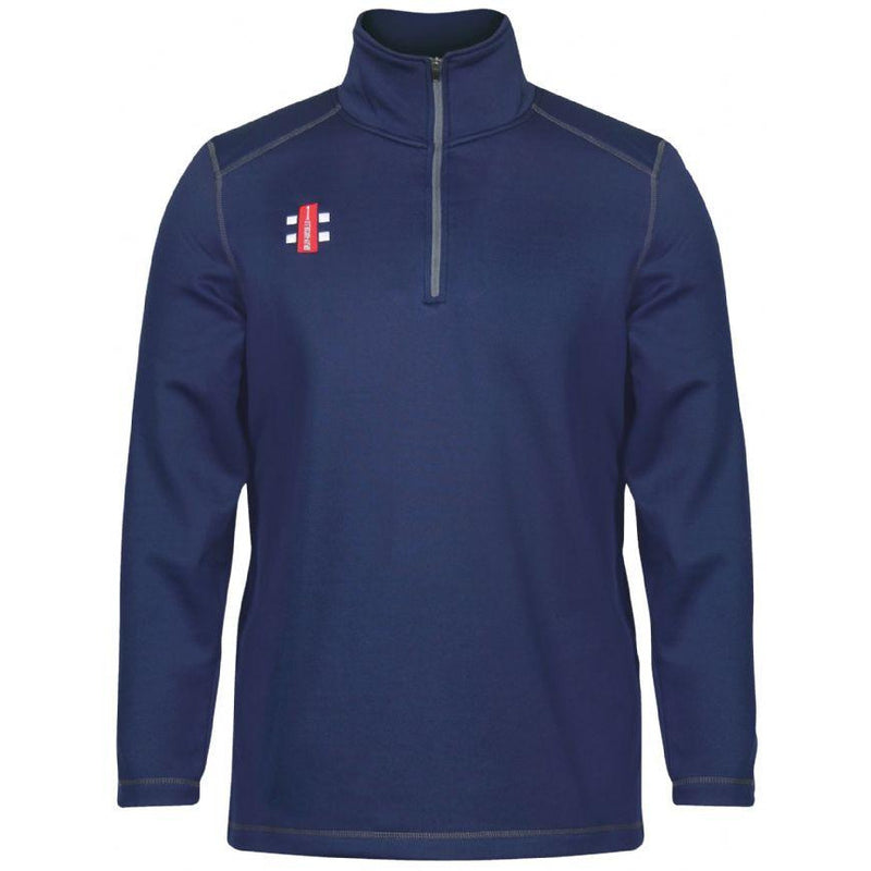 Leymoor CC Thermo Fleece with embroidered badge & Initials