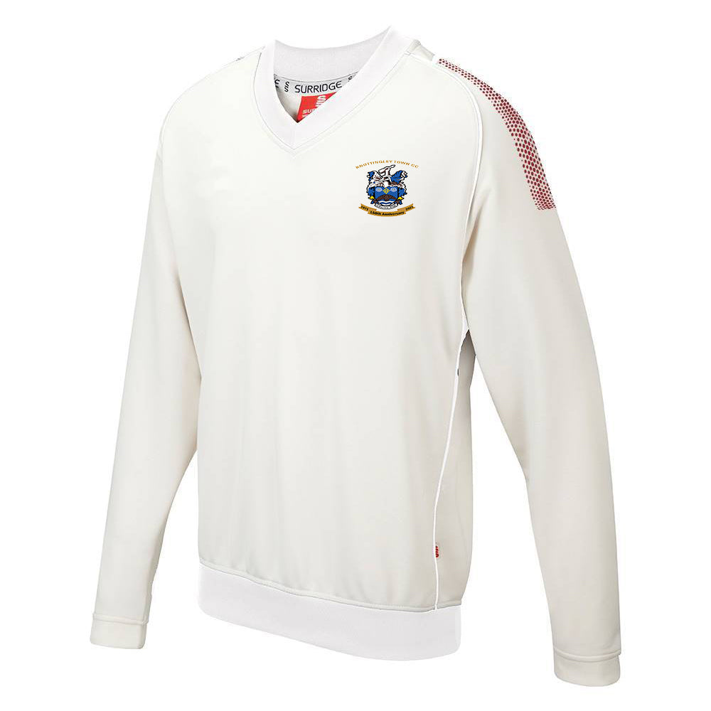 Knottingley Town CC Long sleeve sweater