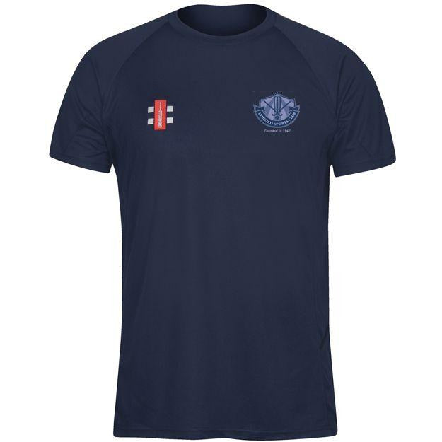 Lydford CC Navy Matrix Training Shirt