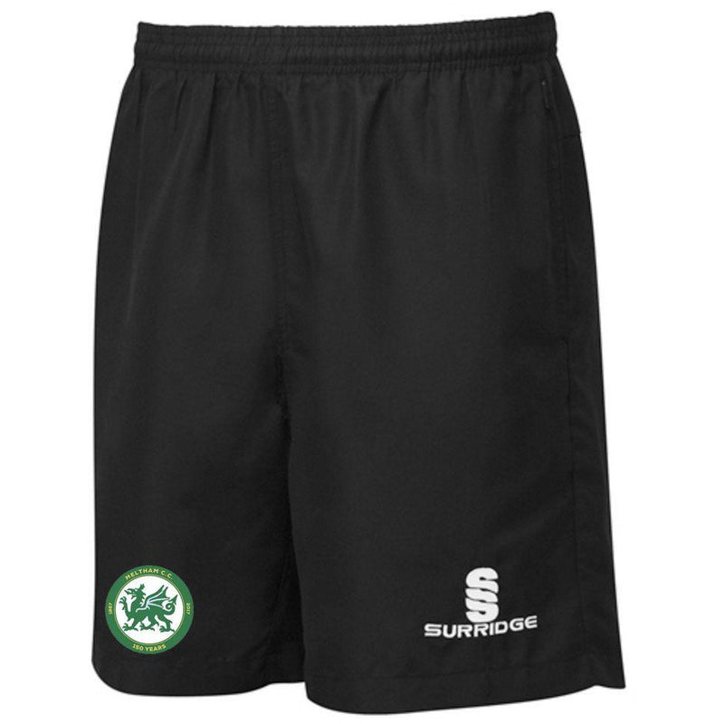 Meltham CC Training Shorts black