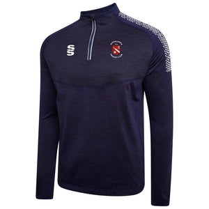 Moorlands CC Performance Top Navy/white