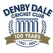 Denby Dale CC Dual Full Zip hoodie with embroidered badge, sponsor and initals