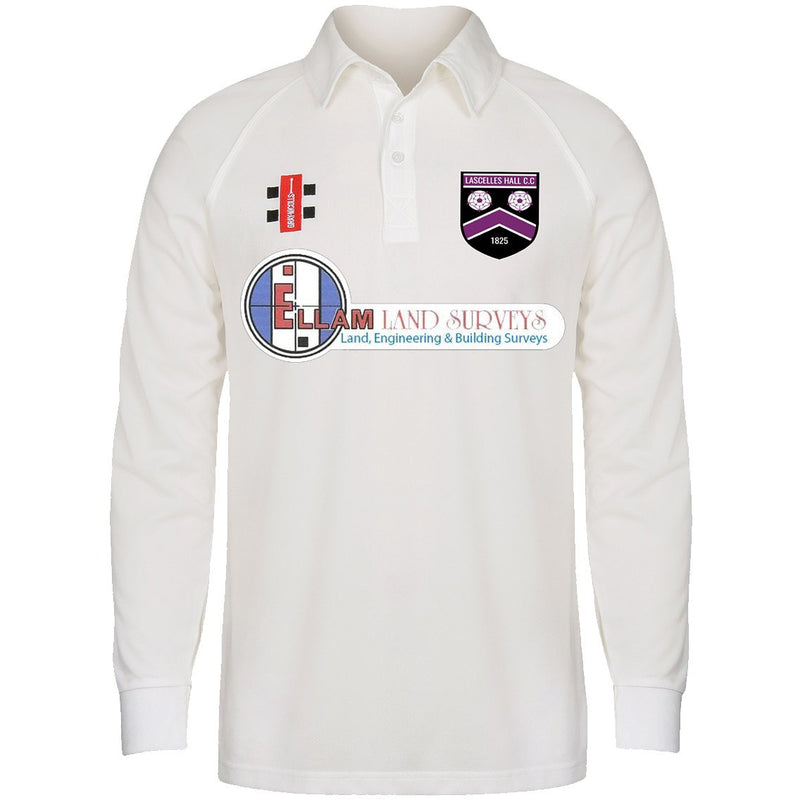 Lascelles Hall CC Long Sleeve Playing Shirt