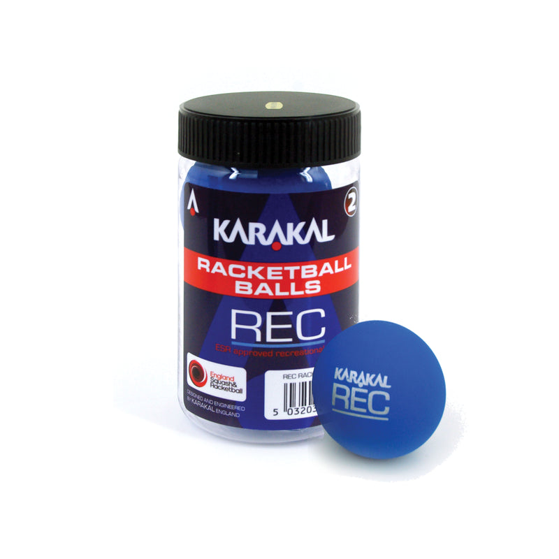 Karakal Blue racketball Ball 2 ball tube