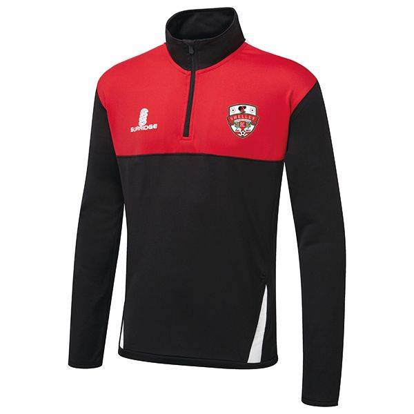 Shelley FC Surridge 1/4 Zip Top