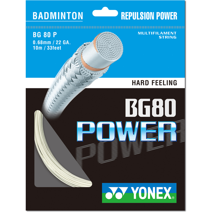 Yonex BG80 Power (inc Fitting)
