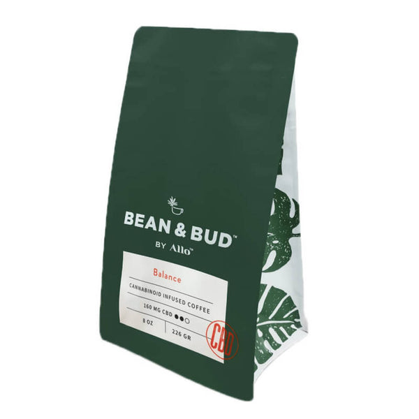 Allo CBD Bean & Bud Balance CBD Coffee 160mg