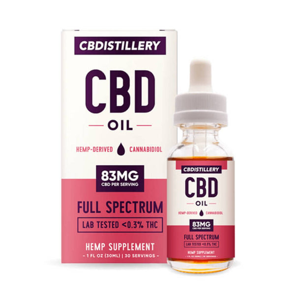 CBDistillery Full Spectrum Tincture | 2500mg