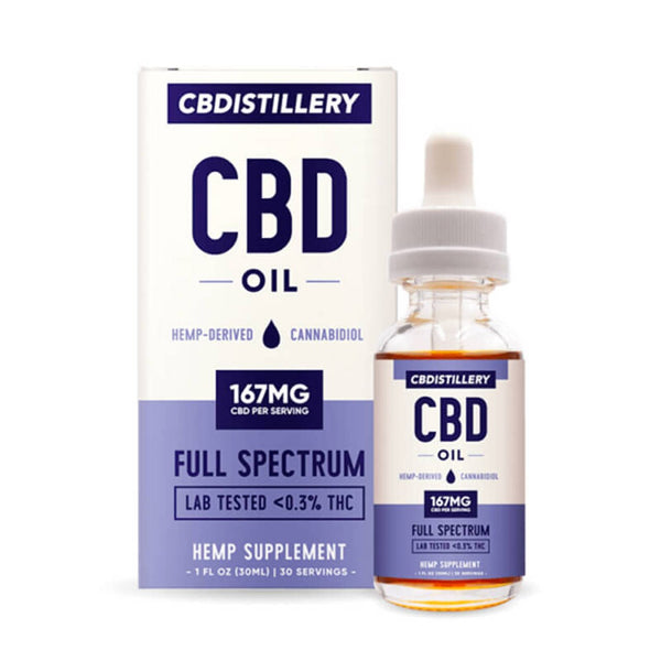 CBDistillery Full Spectrum Tincture | 5000mg