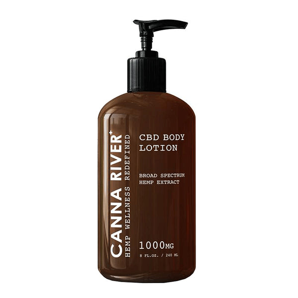 Canna River Topical Broad Spectrum Body Lotion 1000mg
