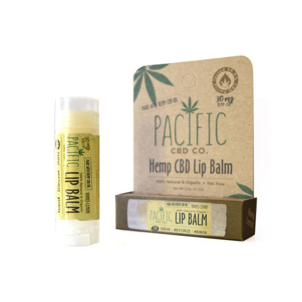 Pacific CBD Co. Lip Balm | Honey-Lemon