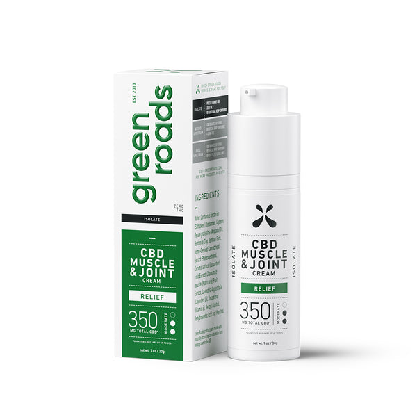 Green Road CBD Muscle and Joint Cream | 350mg - With Box
