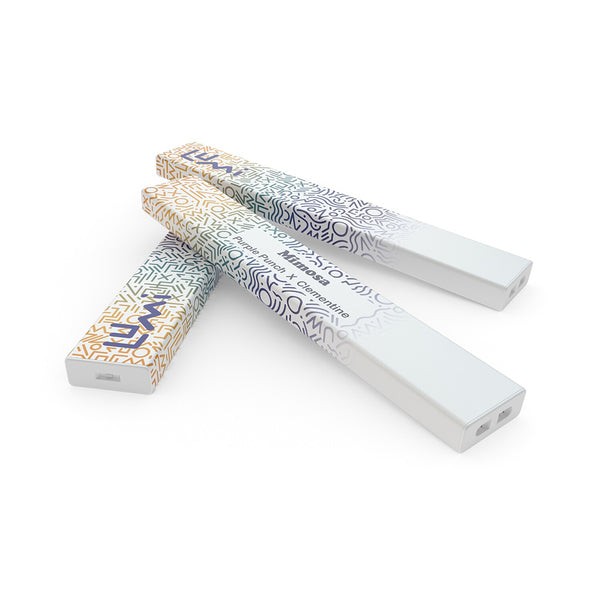 Lumi Disposable Cloud Pen | Mimosa - Top and Bottom View