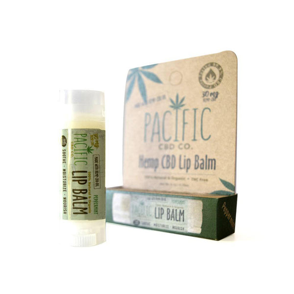 Pacific CBD Co. Lip Balm | Peppermint