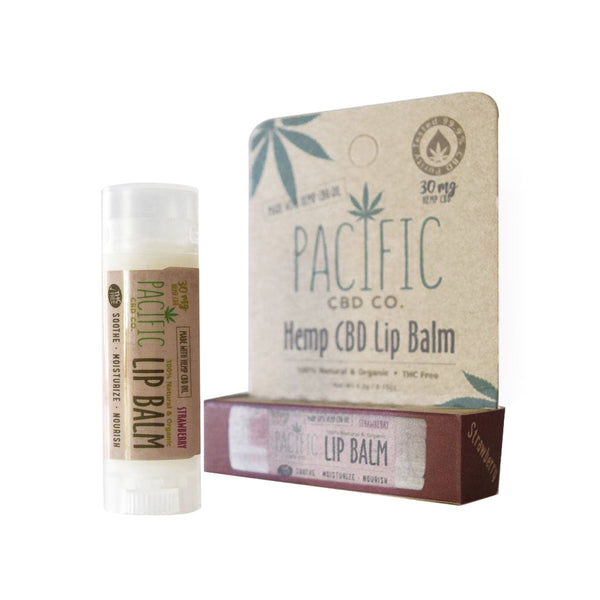Pacific CBD Co. Lip Balm | Strawberry