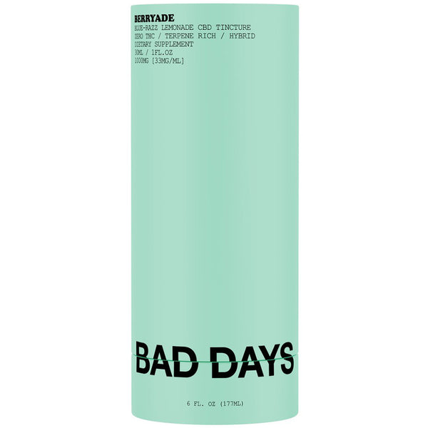 Bad Days Berryade Broad Spectrum Tincture
