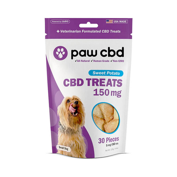 cbdMD Sweet Potato Small Dog CBD Treats 150mg