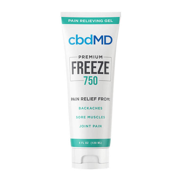 cbdMD Topical Freeze Squeeze Cold Therapy 750mg