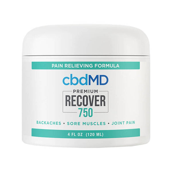 cbdMD Topical Recover Inflammation Cream 750mg