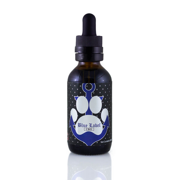 Blue Label CBD Pet Bacon Tincture 500mg