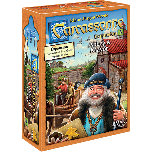 Carcassonne: EXP #5 - Abbey & Mayor