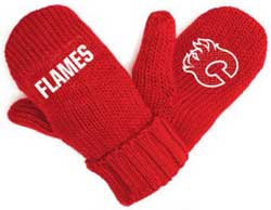 NHL Podium Mitts (Flames) Youth