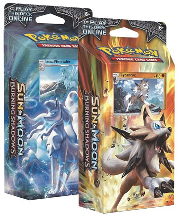 Pokemon - Sun & Moon - Burning Shadows Theme Deck - Ninetails-Luminous Frost