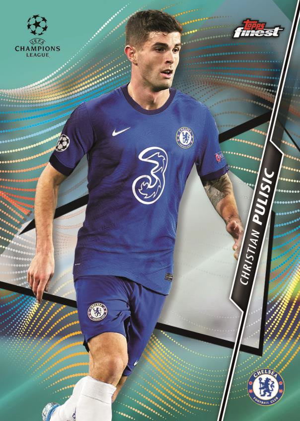 21 Topps Finest UEFA Champions League Soccer
