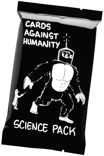 CARDS AGAINST HUMANITY: SCIENCE PACK | Skaf Express