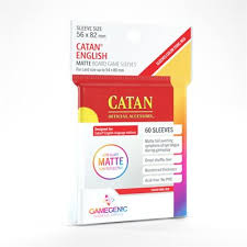 Matte Catan - Sized Sleeves 56 x 82 mm