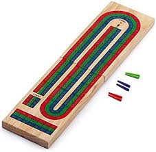 Triple Track Cribbage Board (Foldable)