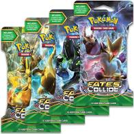Pokemon XY10 Fates Collide Sleeved Booster