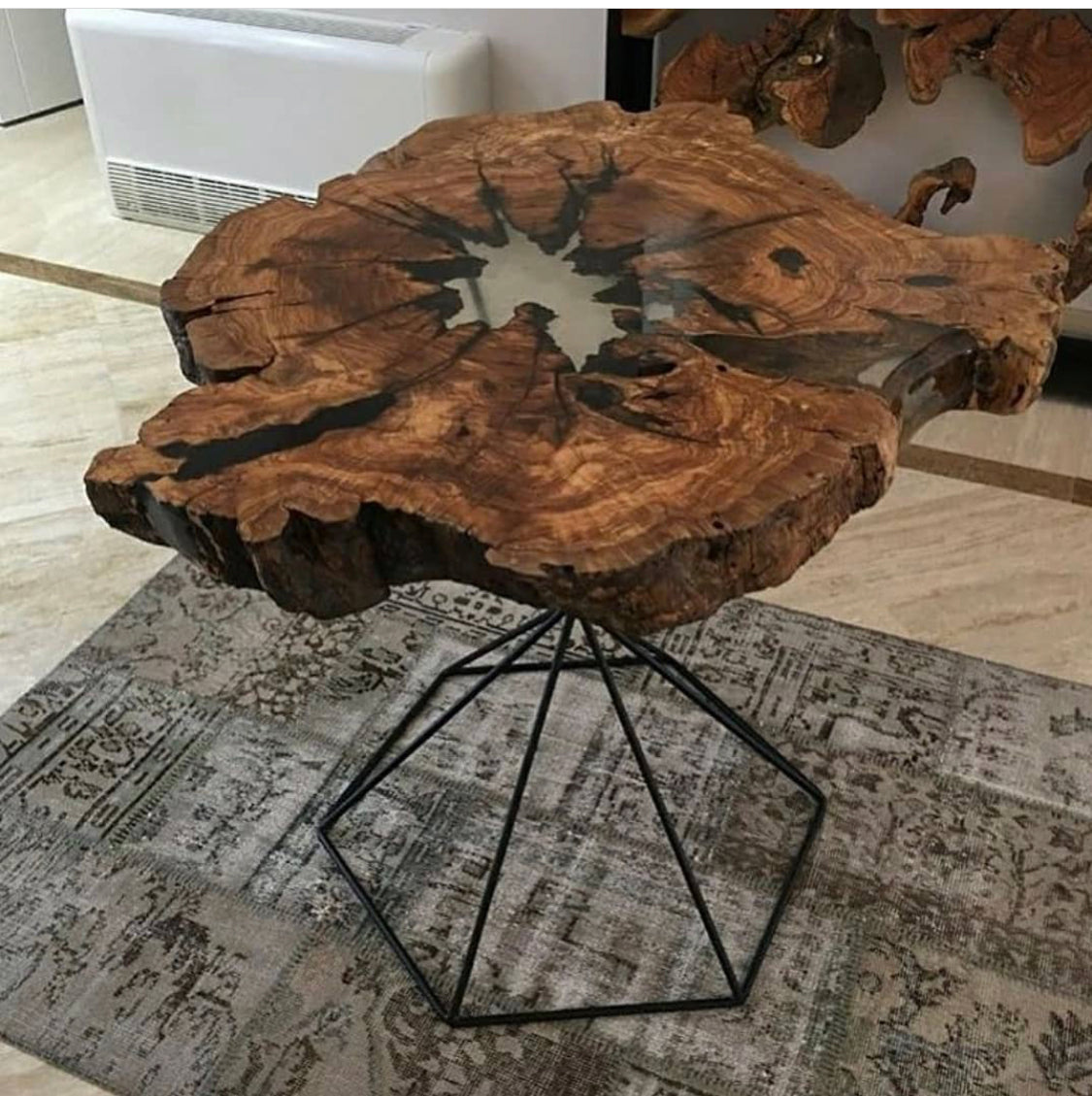 Tree Trunk Table - Centre Table