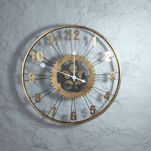 Open image in slideshow, Time Piece - Wheel Clock